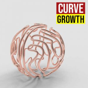 Curve Growth Grasshopper3d