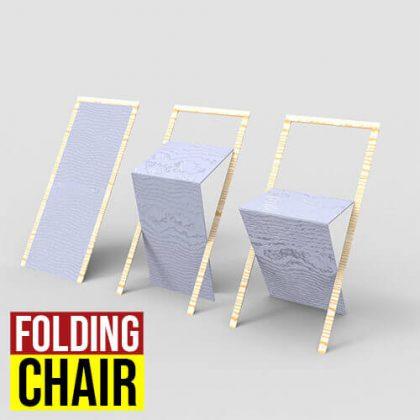 Folding Chair Grasshopper3d