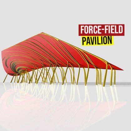 Pavilion by Field Grasshopper3d