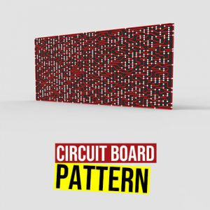 Circuit Board Pattern Grasshopper3d