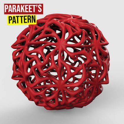 Parakeet's Pattern Grasshopper3d