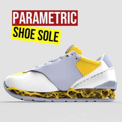 Parametric Shoe Sole Grasshopper3d