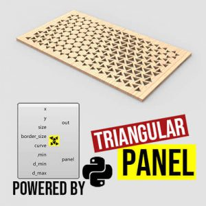 Triangular Panel Grasshopper3d Python