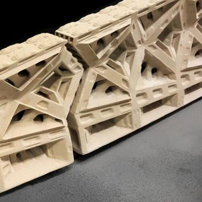 3D Printed Reinforced Beam