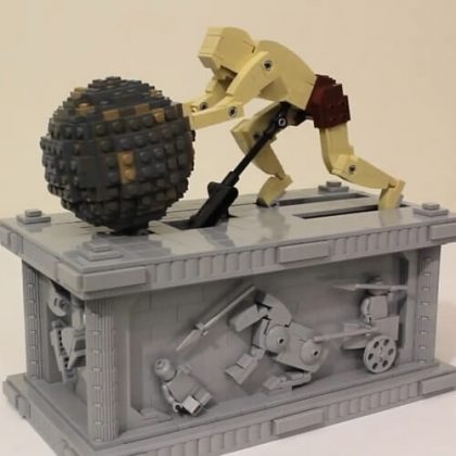 Sisyphus Kinetic Sculpture