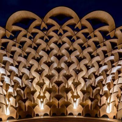London Timber Pavilion