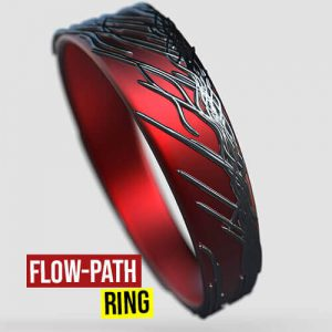 Flow Path Ring Grasshopper3d