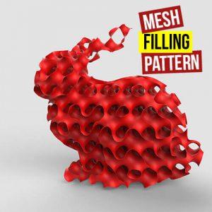 Mesh Filling Pattern Grasshopper3d