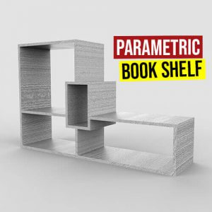 Parametric Book Shelf Grasshopper3d