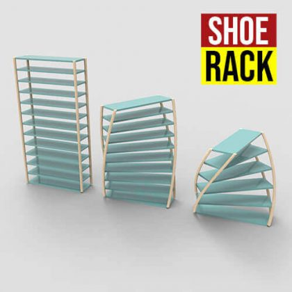 Shoe Rack Grasshopper3d