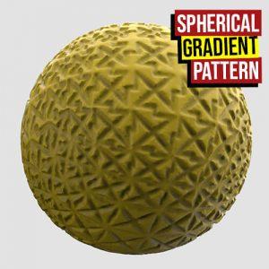 Spherical Gradient Pattern Grasshopper3d
