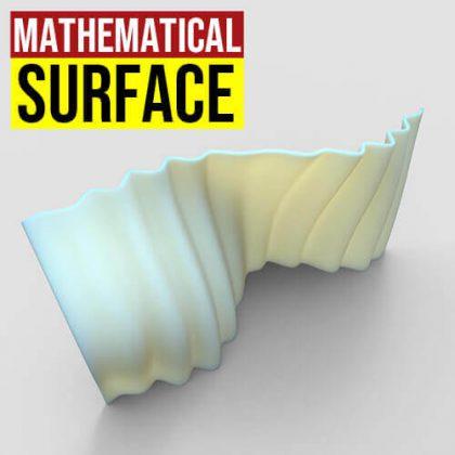 Mathematical Surface Grasshopper3d