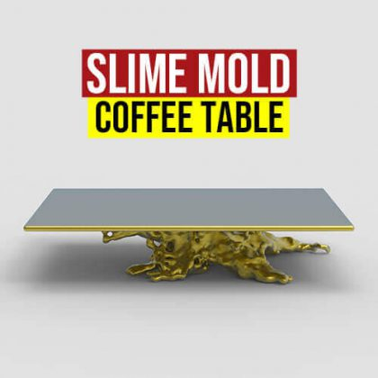 Slime Mold Coffee Table Grasshopper3d