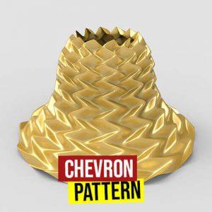 Chevron Pattern Grasshopper3d