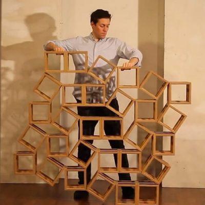 Ghostcube Kinetic Sculpture