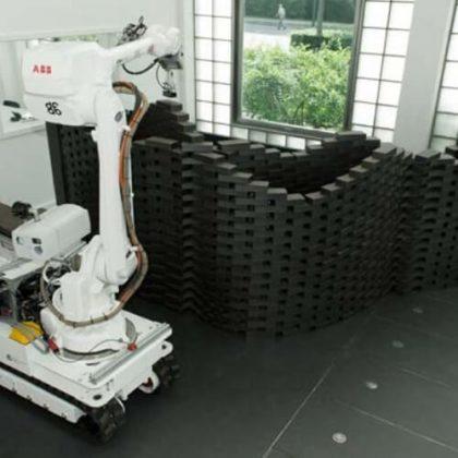 Mobile Robotic Brickwork