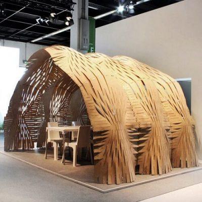 Expandable Surface Pavilion