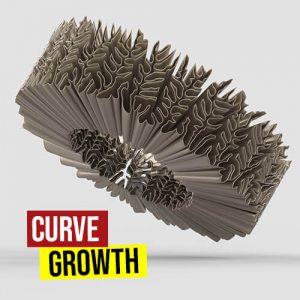 Curve Growth Grasshopper3d Stella3d Plugin