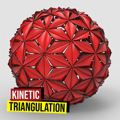 Kinetic Triangulation Grasshopper3d