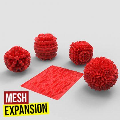 Mesh Expansion Grasshopper3d