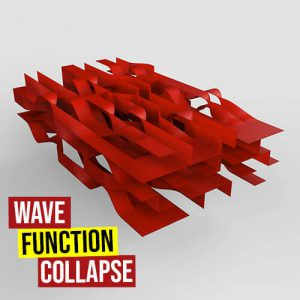 Wave Function Collapse Grasshopper3d