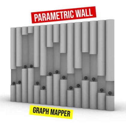 Parametric Wall Grasshopper3d Graph Mapper
