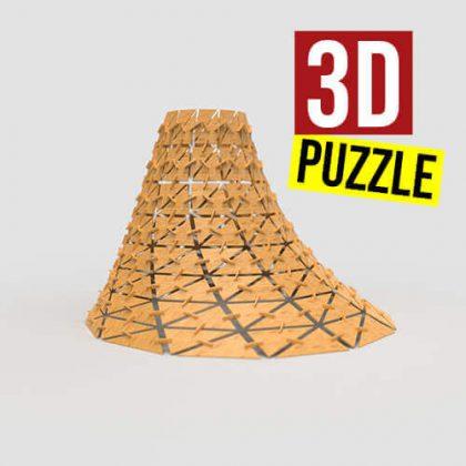 3D Puzzle Grasshopper3d Fabrication