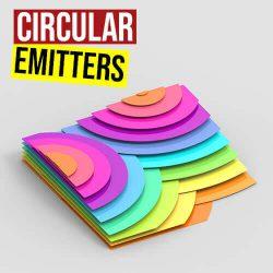 Circular Emitters Grasshopper3d