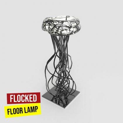 Flocked Floor Lamp Grasshopper3d Definition
