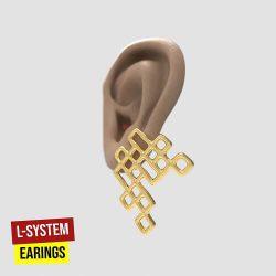 L-System Earrings Grasshopper3d