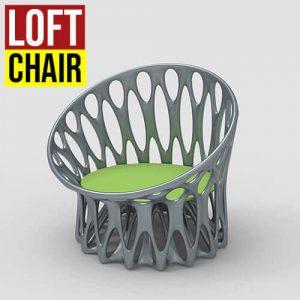 Loft Chair Grasshopper3d