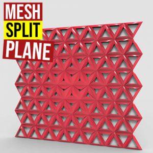 Mesh Split Plane Grasshopper3d weaverbird