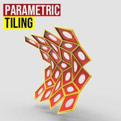 Parametric Tiling Grasshopper3d Weaverbird Mesh+ Plugin