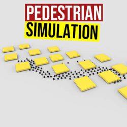 Pedestrian Simulation Grasshopper3d PedSim Plugin