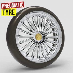 Pneumatic Tyre Grasshopper3d Pufferfish Dendro plugin