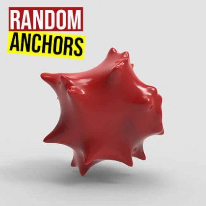 Random Anchors Grasshopper3d Kangaroo plugin