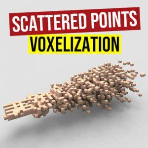 Scattered Points Voxelization Grasshopper3d