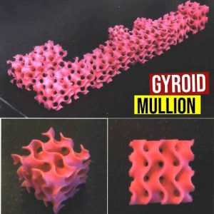 Gyroid Mullion
