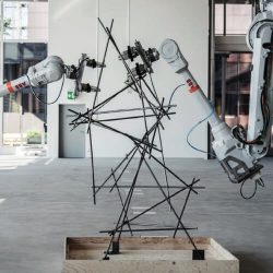 robotically assembled spatial structures