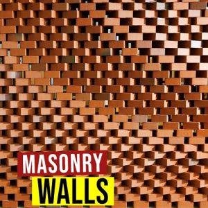 Masonry screen walls optimization