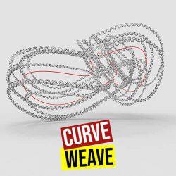 Curve Weave Grasshopper3d stella3d