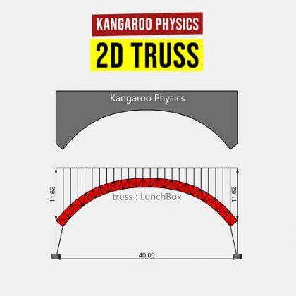 Kangaroo Physics 2D Truss