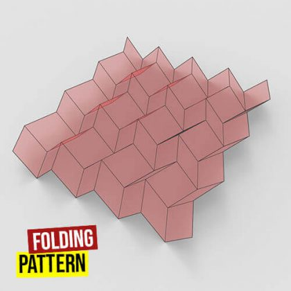 Folding Pattern Grasshopper3d Crane Plugin