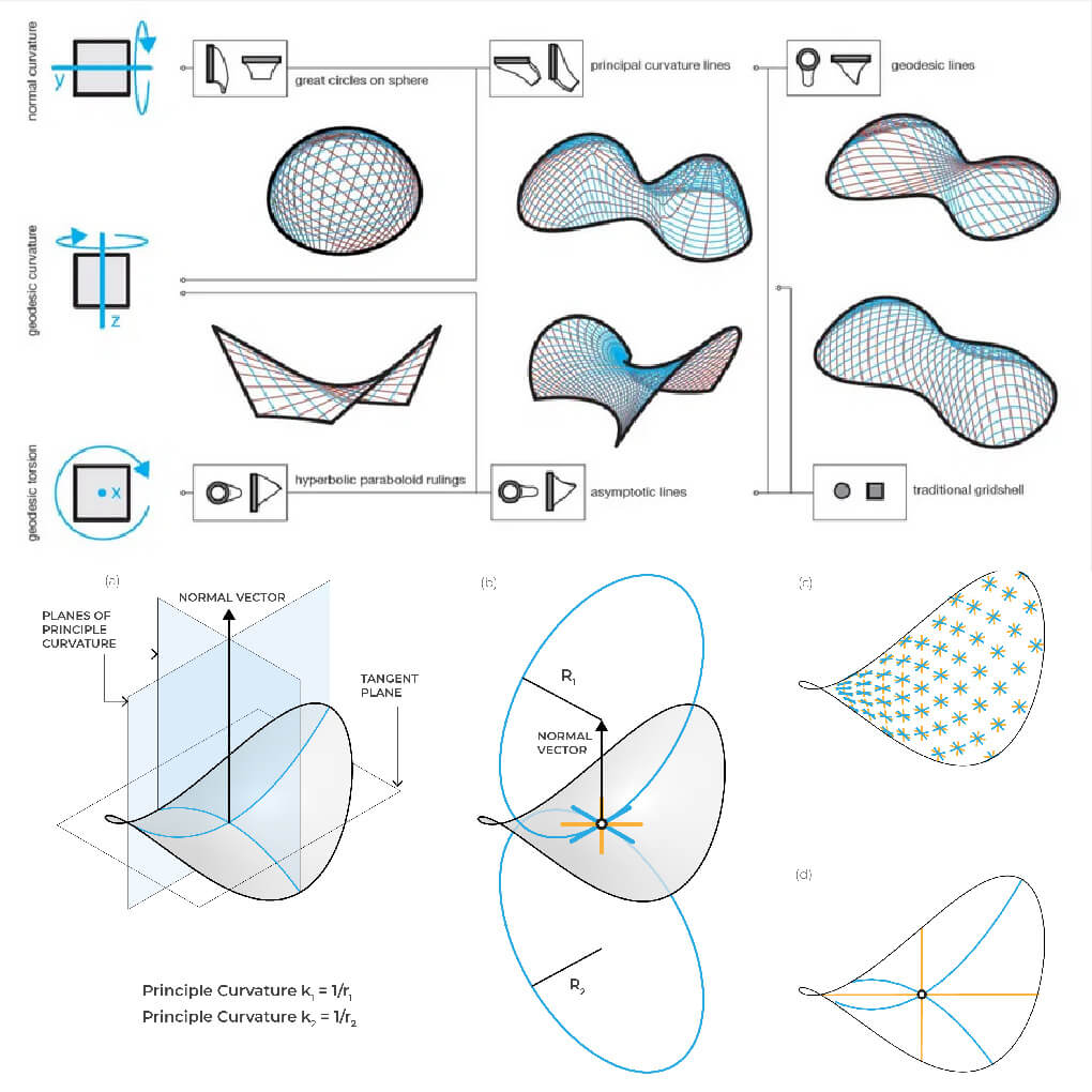 Asymptotic Gridshell