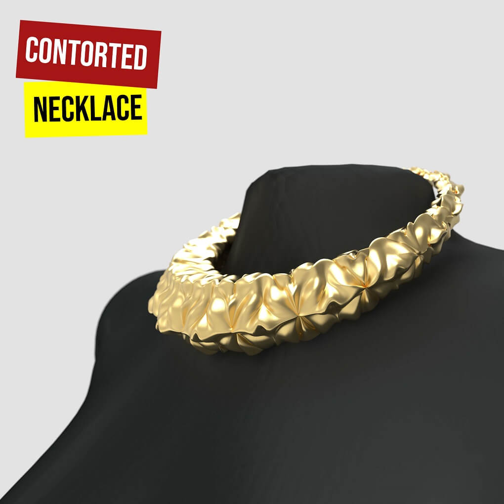 Contorted Necklace