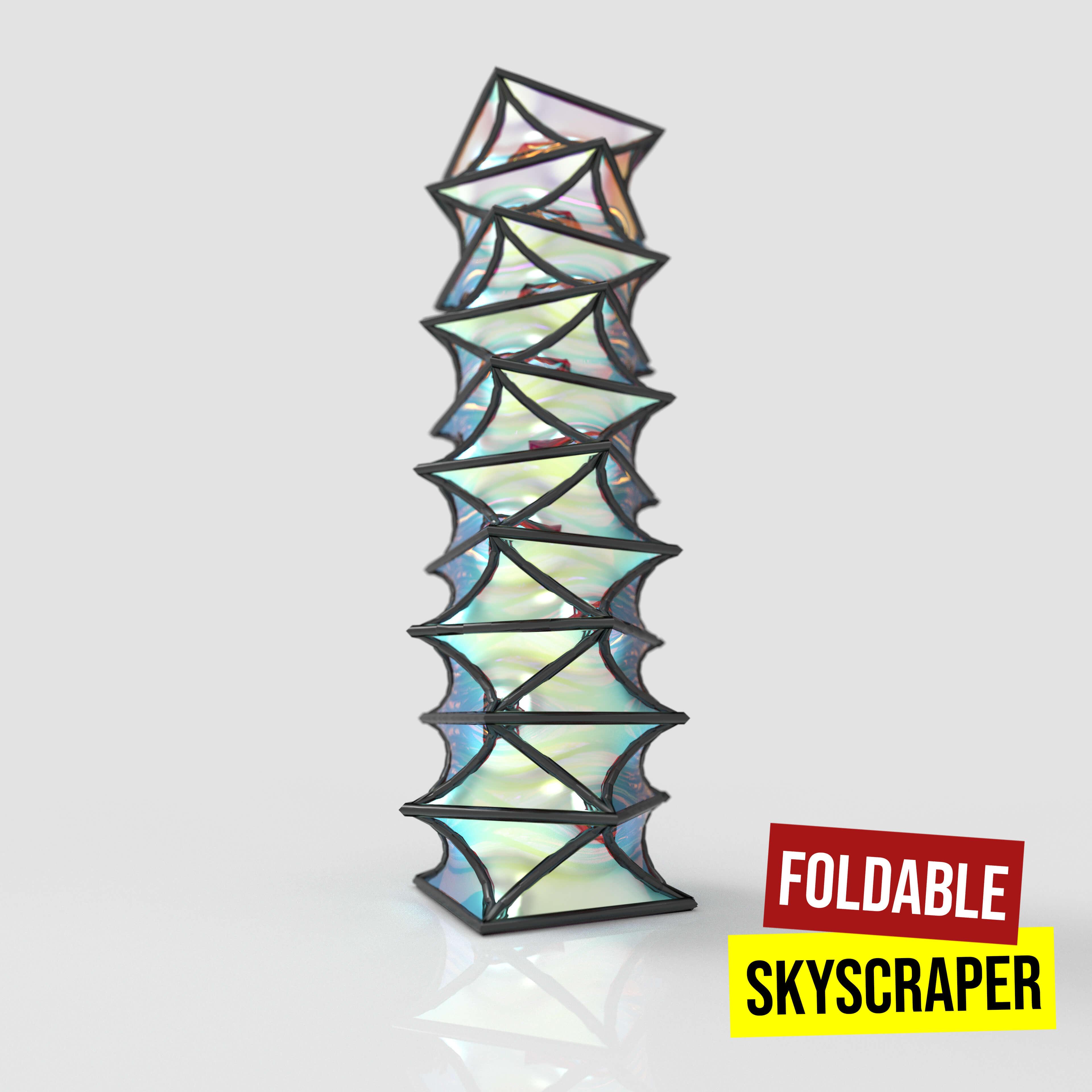Foldable Skyscraper