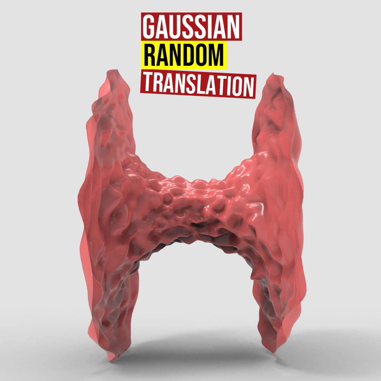 Gaussian Random Translation