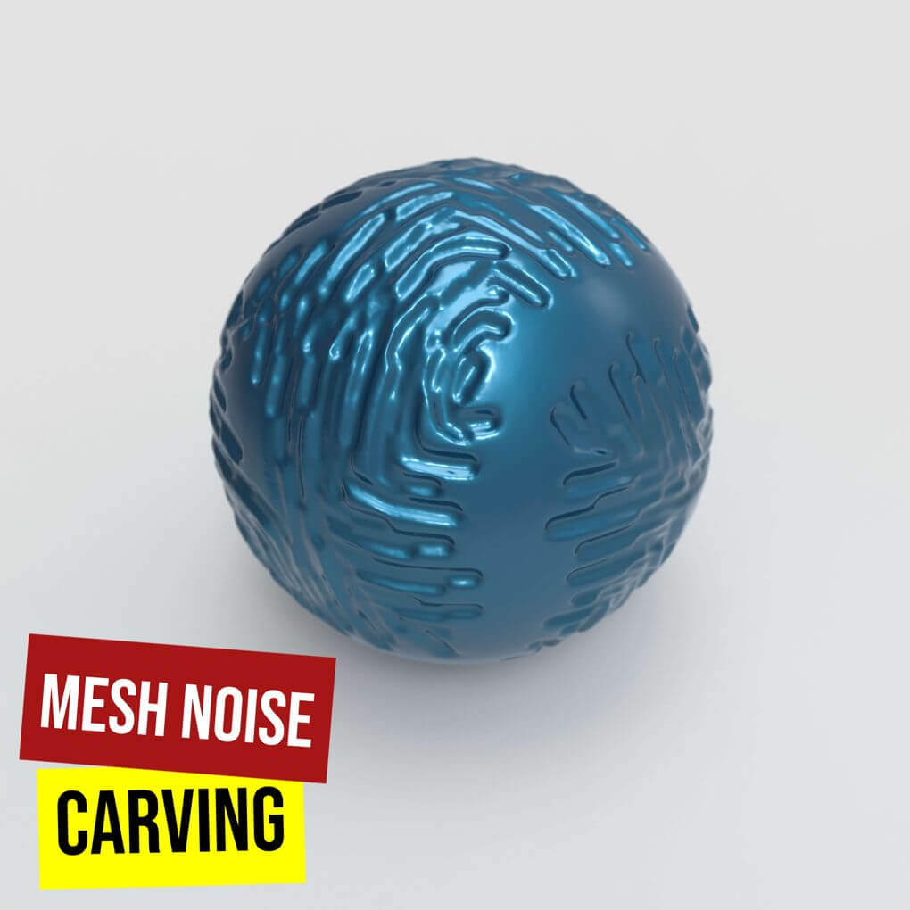 Mesh Noise Carving