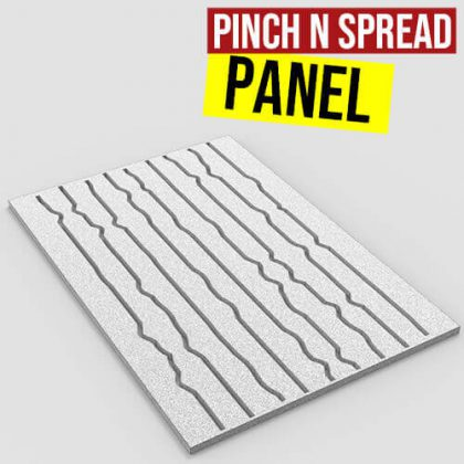 pinch and spread panel