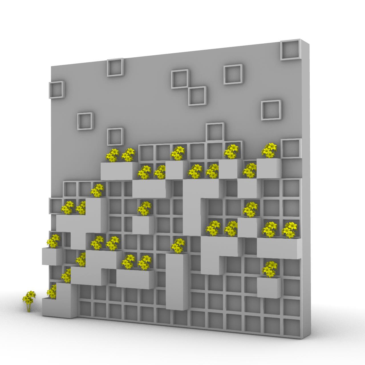 Random Extruded Wall